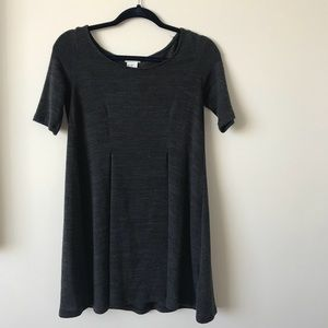 Grey wool urban outfitters shift dress